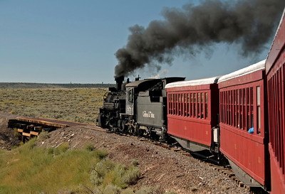 Colorado: Cumbres & Toltec Railroad ride, 2008