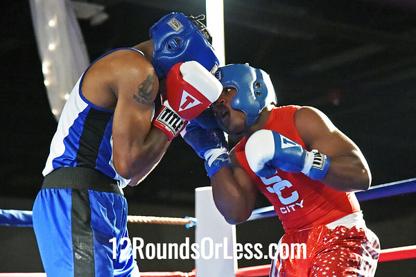 Bout #12  Charles Conwell, Toledo, OH  vs  Wilmont Wood, St. Martin BC, Rochester, NY  165 Lbs.