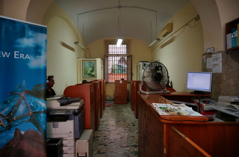 VIA FOSCOLO - PIAZZA DANTE - INTERNET-MONEY EXCHANGE CENTER -