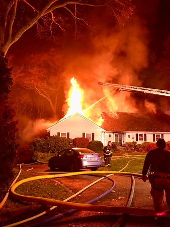 City of Rye, Structure Fire - Hunter Lane