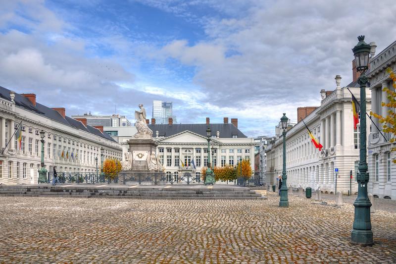 Martelaarsplein - Bruxelles, Belgium - October 31, 2010