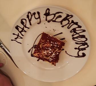 Donna's Birthday Dinner