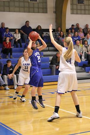 Girls Basketball, Danville vs Holy Trinity 12/5/2014