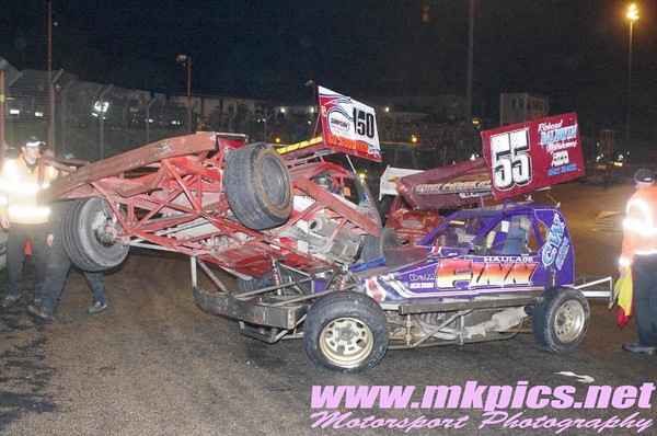 BriSCA F1's , Birmingham Wheels, 19 October 2013