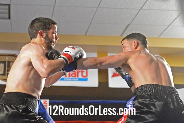 Bout #2 Charles Natal, Cleveland, OH vs Renan Ruiz, Jr, New York, NY Light Middleweights