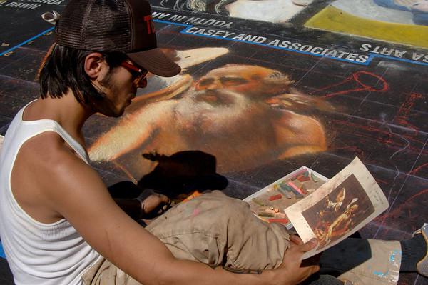 Italian Street Painting Festival 2008