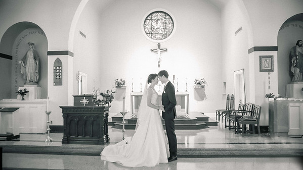 Sally and Josh - Catholic Wedding - DC