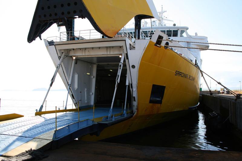 2008 - F/B SARDINIA REGINA in Golfo Aranci.