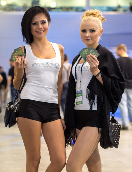 Prime World girls at Igromir 2013