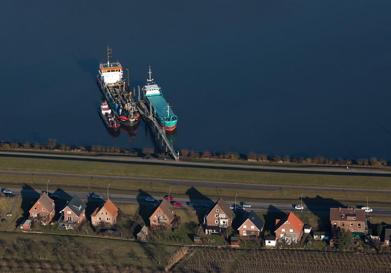 Luftbild Finkenwerder