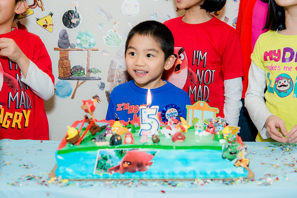 2018_02_20 Darren's 5th Birthday
