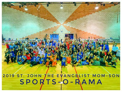 MARCH 22ND, 2019 | St. John the Evangelist Mom-Son Sports-O-Rama