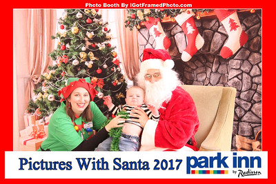 Park Inn Pictures with Santa