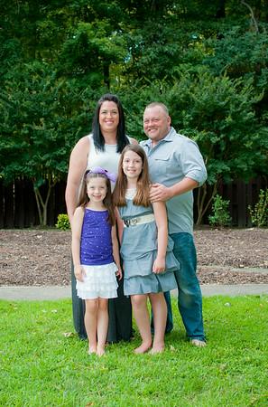 Fleischer, Tufarelli, Midgette, and Gilliam Families-July 2014