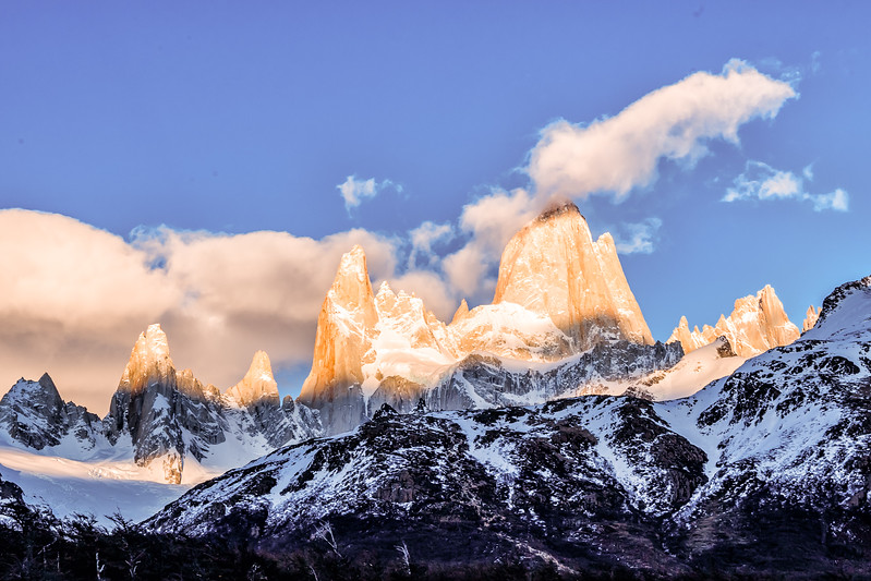 Hiking in Patagonia Poincenot Camp Divergent Travelers