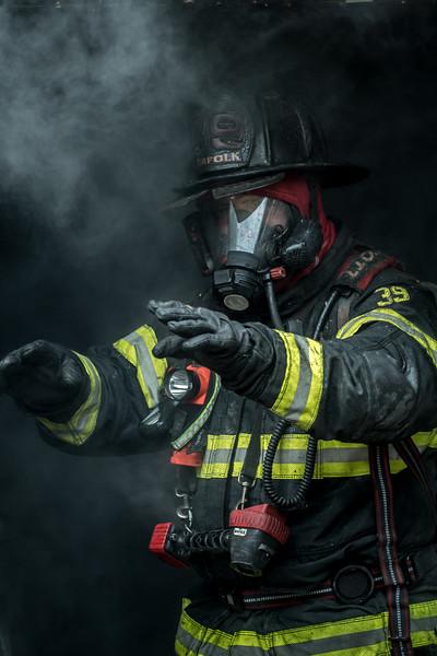 Norfolk, MA 360 Main st training burn