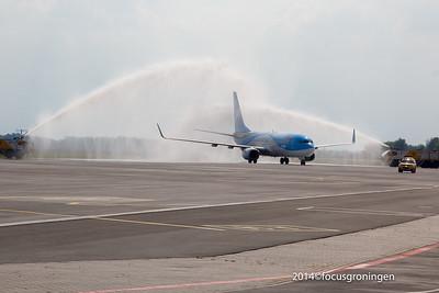 Eelde Luchthaven Eerst Arke vlucht Antalya 2014