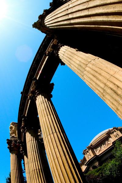 six columns