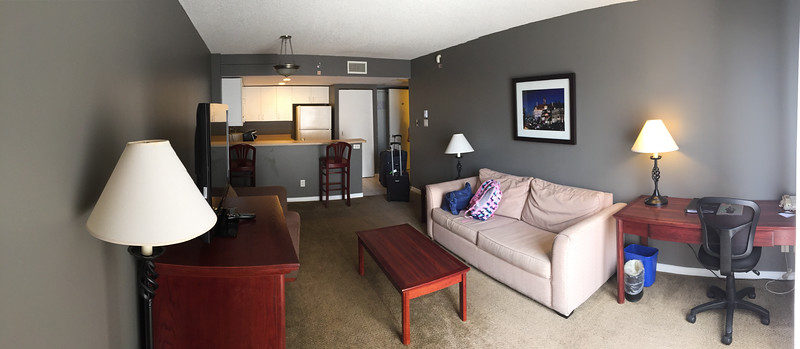 Our hotel room.  Reasonably nice.