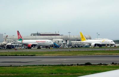 Heathrow - Copenhagen flight, 2014