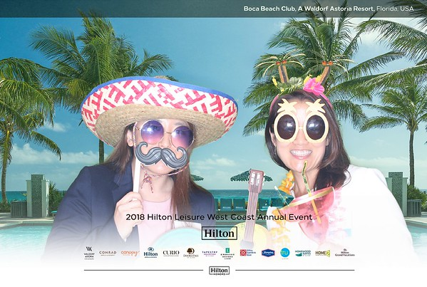 2018 Hilton Leisure West Coast Event
