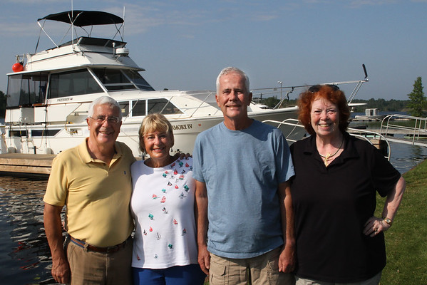 Part 1.  2019. Cruising the Georgian Bay on Tobermory IV with Betsy & Ted.
