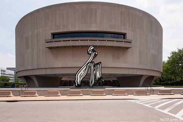 Hirshhorn Museum and Sculpture Garden, Washington, DC 2012