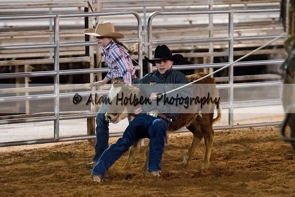 2018 Junior High Rodeo (Friday) - Ribbon Roping
