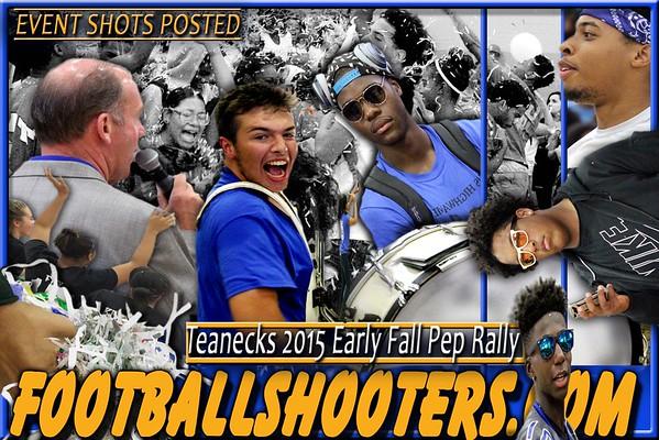 2015 TEANECK EARLY FALL PEP RALLY