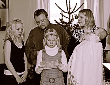 Skírn Ásbjörns Freys Österby 31. des 2006