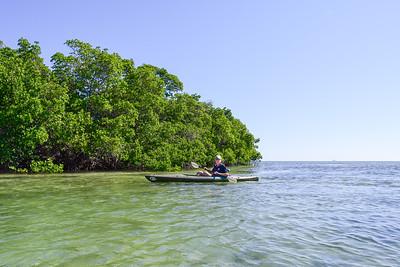 Stock Island Kayaking - Dec., 2018