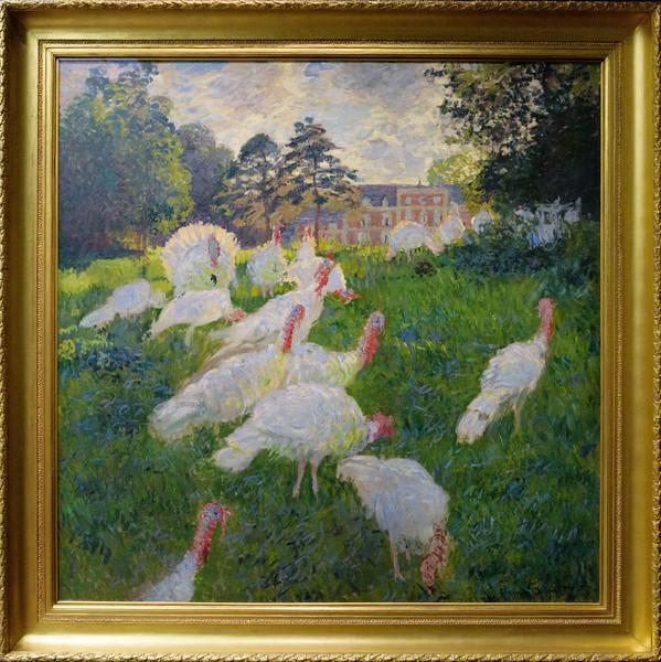 Claude Monet, Turkeys 1876