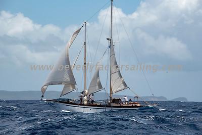RUSSAMEE under sail