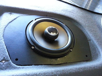 1995 Honda Accord LX 4 Door Rear Deck Speaker Installation - USA