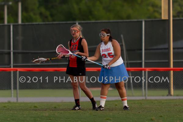Boone Girls JV Lacrosse 2011 - #25