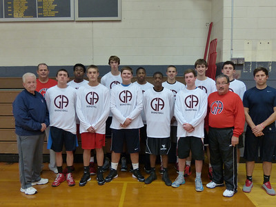 Boys' Basketball: Tournament Team Photo