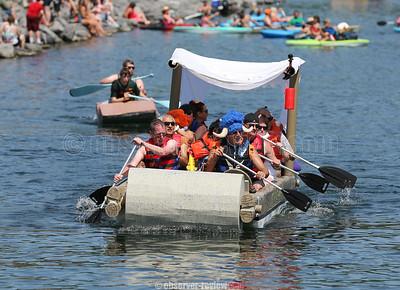Cardboard Boat Regatta 6-16-18