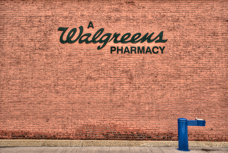 Walgreen Pharmacy Sign