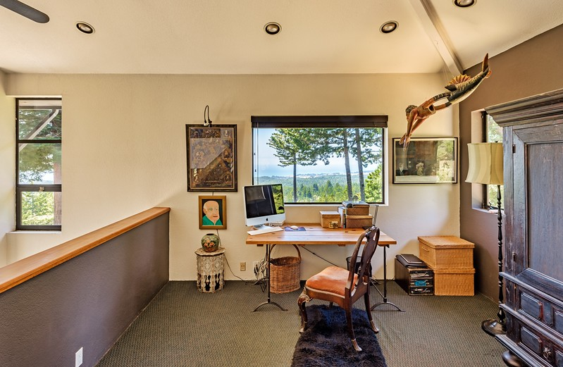Loft Office with Ocean Views