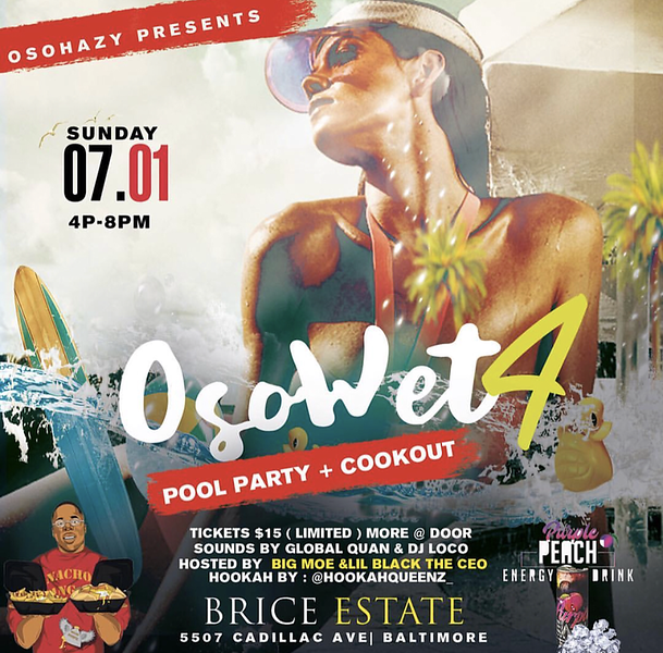 OSOWET 4 Pool Party