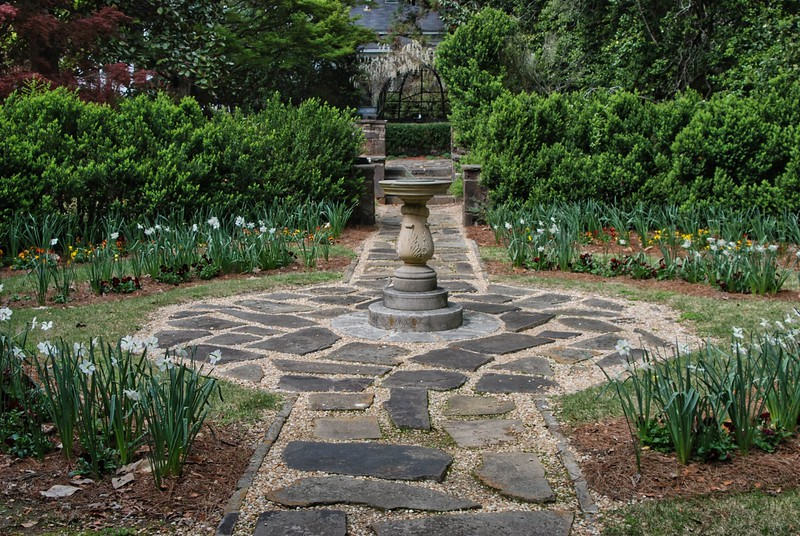 Sundial Garden at Oak Hill