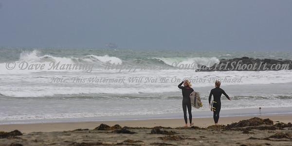 Crazy Storm surfers @ Blackies 1-6-2016