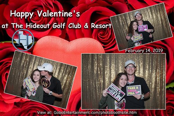 20190214 The Hideout Golf Club Valentine's Dinner