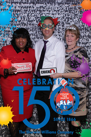 Sherwin Williams Holiday Party 2016