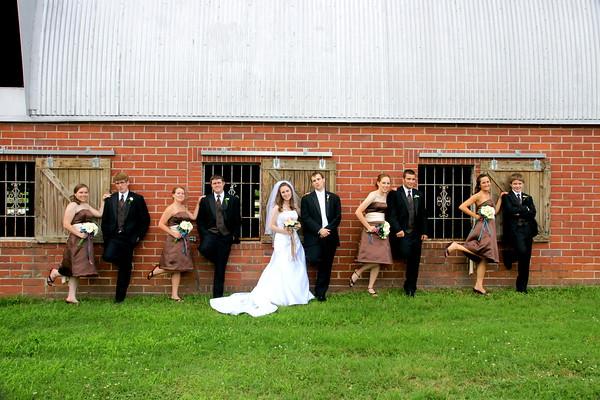 Wilson and Bunker Wedding - Barnesville, GA