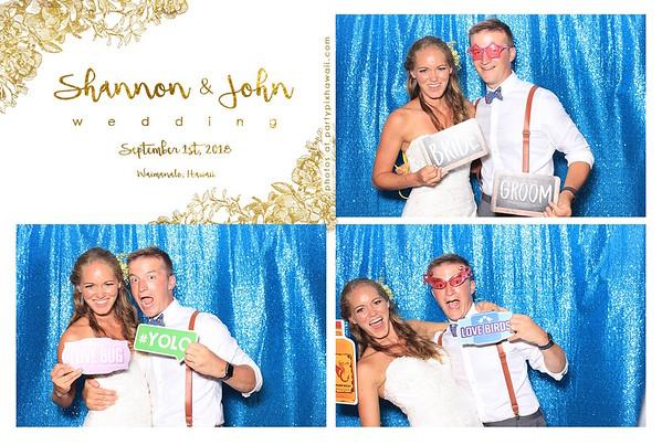 John & Samantha's Wedding (LED Dazzle Booth)