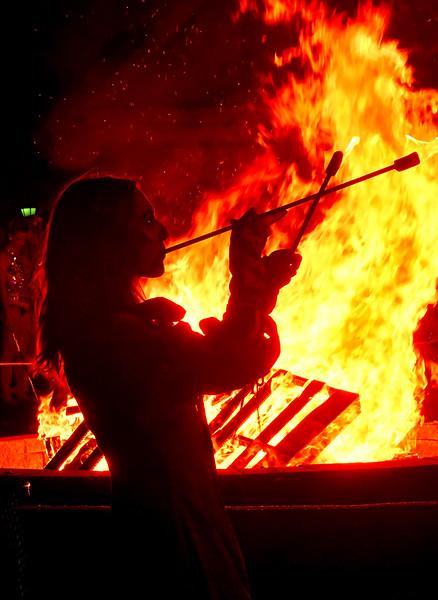10.12.17 Homecoming Bonfire