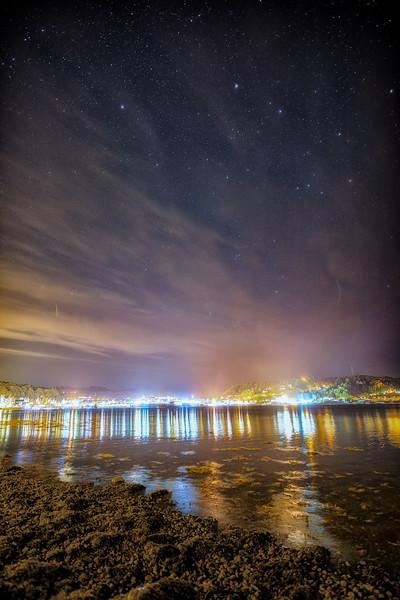 Oban Bay Night
