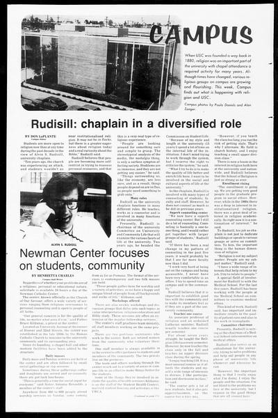 Daily Trojan, Vol. 67, No. 17, October 08, 1974