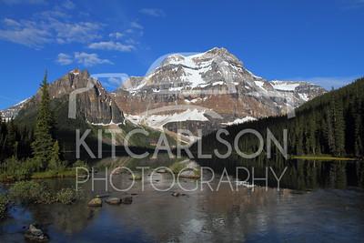 Shadow Lake and Mount Ball